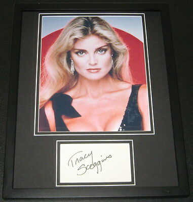 Tracy Scoggins Signed Framed 11x14 Photo Poster Display Lois & Clark Babylon 5