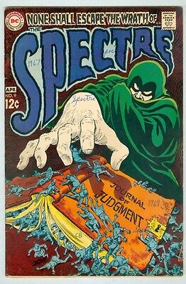 The Spectre #9 May 1969 VG- Wrightson art 9 pages