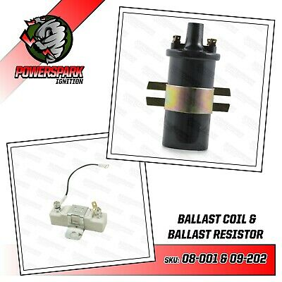 Ballast Resistor & Ballast ignition coil replacement pack points or Powerspark