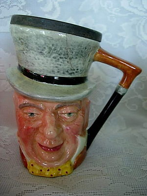 Collectible LANCASTER SANDLAND Hand Painted Dickens Toby Mug - Made in England