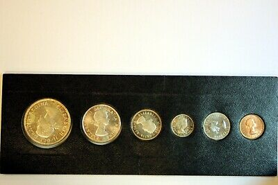 1961 Proof Like Set - Uncirculated - Silver Coins - Royal Canada Mint Issue