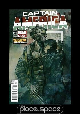 Captain America # 8 - Cover B (1:20) Variant - Marvel Now