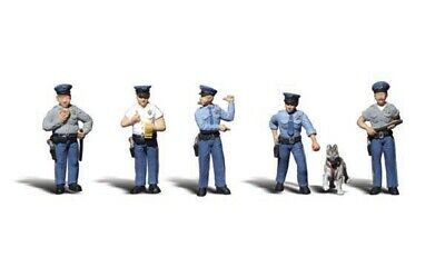 Woodland Scenics Policemen N Train Figures A2122