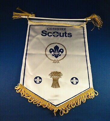 Old Cheshire Scouts Banner