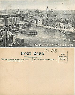 Great Britain - General View of Newcastle on Tyne (S-L XX115)