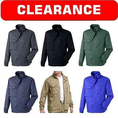 New Mens Classic Casual Jacket Coat Cargo Combat Harrington Bomber Summer