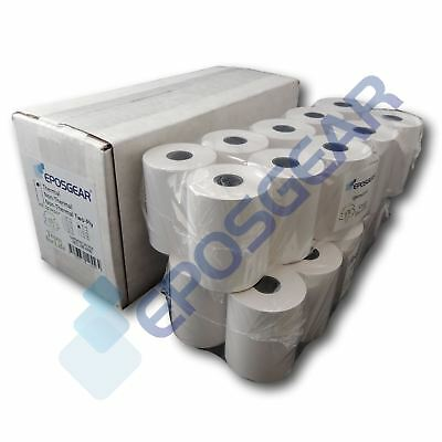 57mm x 46mm 57x46mm Thermal Paper Credit Card PDQ Streamline Machine Till Rolls