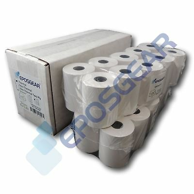 20 57mm x 46mm 57x46mm Thermal Paper Credit Card PDQ Streamline Machine Rolls
