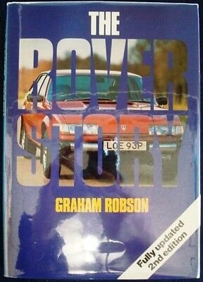 The Rover Story 2Nd Edition Graham Robson Car Book