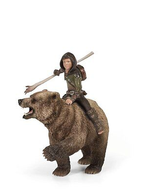 NEW SCHLEICH BAYALA Elves Elf 70440 Torak Bear Ride) & Large Bear 14cm - RETIRED