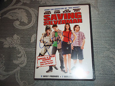 "Jason Biggs ""Saving Silverman"" Autographed DVD Cover Signed January 2008"