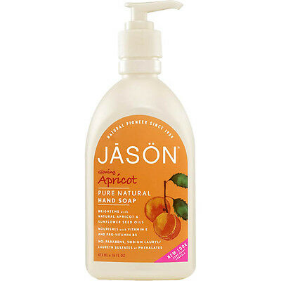 Jason Apricot Liquid Hand Soap 473ml