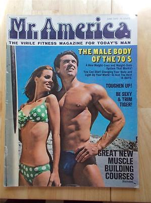 MR AMERICA bodybuilding muscle magazine/DON PETERS/Frank Zane 6-70