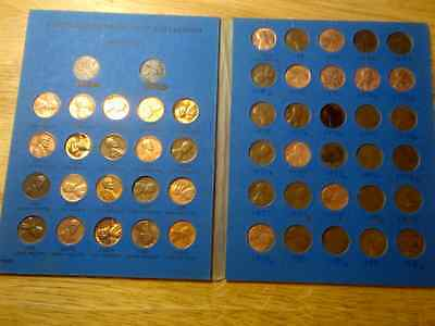 1959 - 1982 Complete  Lincoln Cent Set in Coin Folder