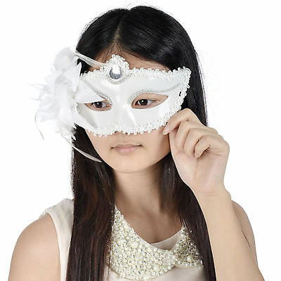 Venetian Flower Party Costume Eye Mask Masquerade Party/Prom Half Face Mask