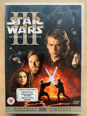 Star Wars Revenge of the Sith DVD Episode III 3 2-Disc Special Edition