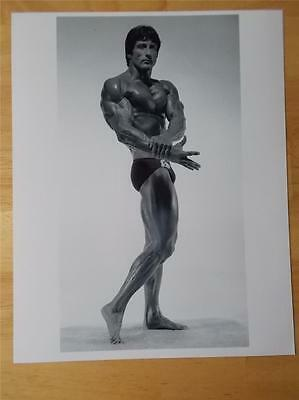 Mr Olympia Bodybuilder FRANK ZANE muscle bodybuilding 8 X 10 high gloss photo