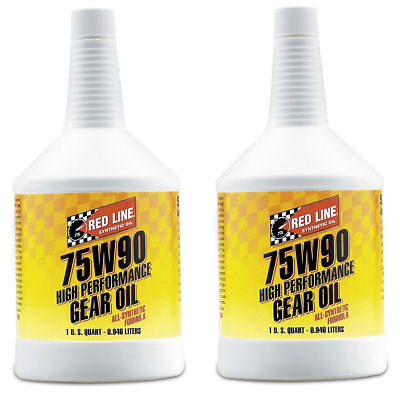 RedLine-75W90 GL-5 Gear Oil - 2 Pack - PN: 57904