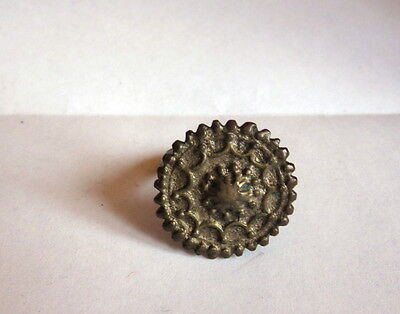 Early Antique Native Islamic Turkish Ottoman Empire Silver Ring Relic Jewelry