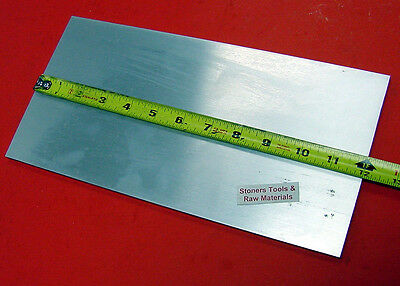 "1/4"" X 6"" ALUMINUM 6061 T6511 FLAT BAR 12"" long PLATE Cut New Mill Stock .25""x6"""