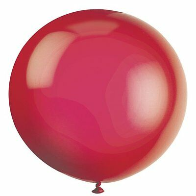 """6 Large 3ft (36"""") Balloons - Many Colours Available - Giant Balloon - Party"""
