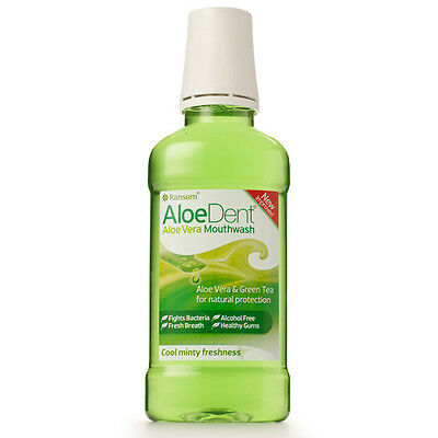 Optima AloeDent Aloe Vera Mouthwash 250ml