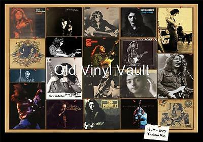 Rory Gallagher-Tribute Poster Collage repro print
