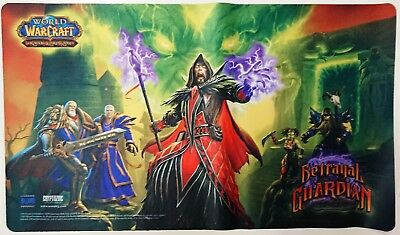 ☺ Wow Tcg Nuovo Epic Collection Playmat Betrayal Of The Guardian