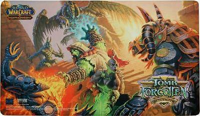 ☺ Wow Tcg Nuovo Epic Collection Playmat Tomb Of The Forgotten