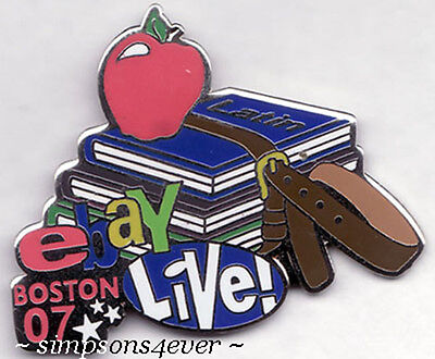 eBay Live 2007 Boston Pin: EDUCATION and BOOKS Theme NEW (Promo Giveaway Item)