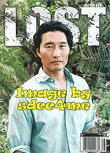 LOST The Official Magazine #16 PX VARIANT Exclusive Daniel Dae Kim (Hawaii Five)