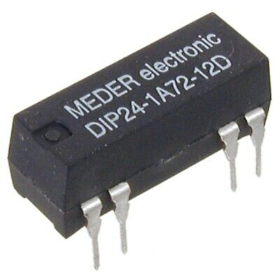 DIP241A7212D Reed-Relais 24V= 1xEIN 2000 Ohm mit Diode parallel MEDER