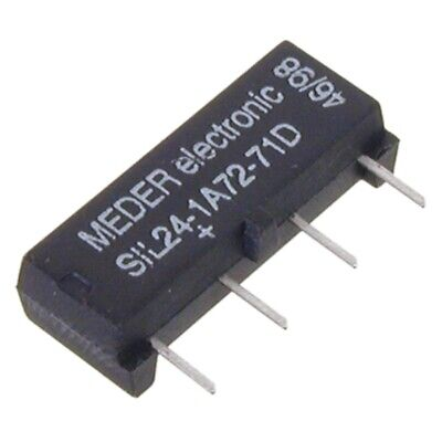 SIL241-A7271D SIL-Reed-Relais 24V= 1xEIN 2 kOhm mit Diode parallel MEDER SIA24D