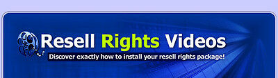 How To Install Resell Rights Package Video Tutorials on 1 CD