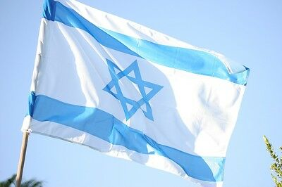 ISRAEL National FLAG 3.6x2.6 Ft Star of David Israeli State Country Banner LOVE