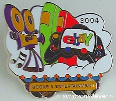 eBay Live 2004 Pin BOOKS & ENTERTAINMENT Category PIN New (Promo Giveaway Item)