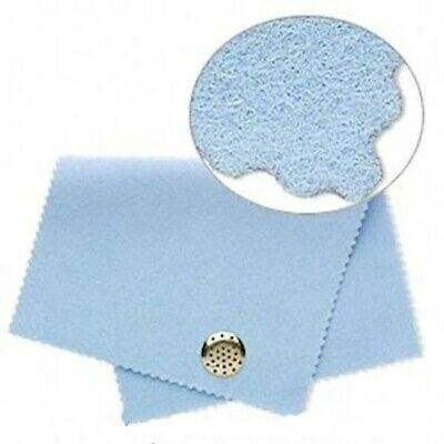 1 Moonshine Blue Polishing Cloth to Quickly & Safely Clean Metal Jewelry