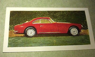 1959 FRAZER NASH  GRAN TURISMO  Orig Colour  Trade Card UK