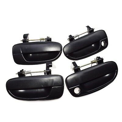 New Outside DOOR HANDLE Front Left Rear Right Black Fit For Hyundai Accent