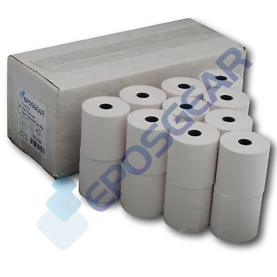 57mm x 57mm 57x57mm Single Ply Paper Cash Register Till Printer Receipt Rolls