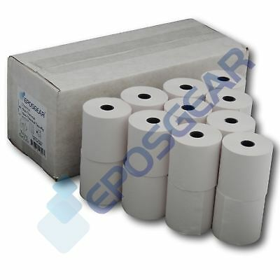 100 57mm x 57mm 57x57mm Single Ply Paper Cash Register Till Printer Receipt Roll