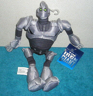 "Warner Brothers Studio Store The Iron Giant 10"" Plush Bean Bag Toy"