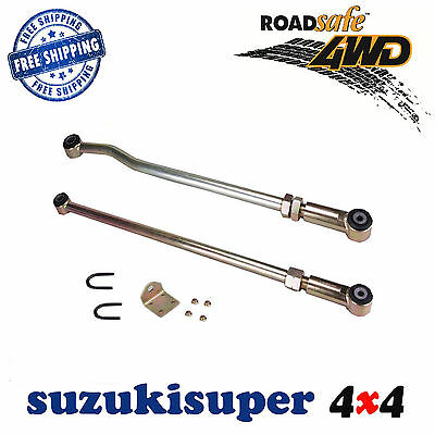 "Nissan Patrol GQ Y60 GU1 Y61 Front Rear Adjustable Panhard Rod Kit 2-6"" Lift"