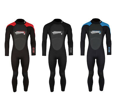 Two Bare Feet SUPAFLEX II Adults Mens Full Wetsuit - 3/2mm Surf Diving Clearance
