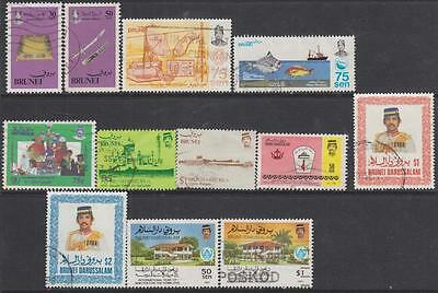 Brunei 1982-87 used hi val selection 12 diff cv $32.15