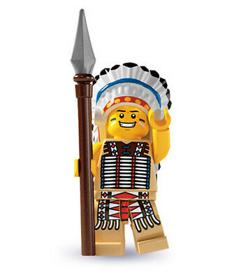 LEGO 8803 Series 3 Collectibles Minifigure INDIAN CHIEF
