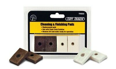 Woodland Scenics Tidy Track Cleaning/Finishing Pads TT4553