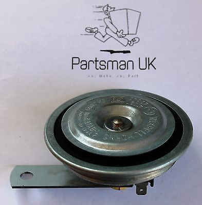 Pearl PEH08 Car Universal Electric Horn Disc Type Low Pitched Tone 2-Pin 12V