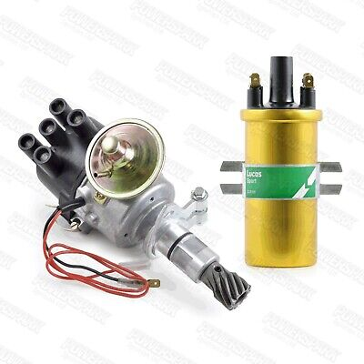 Ford 1100 1300 1300GT 1600 & 1600GT side entry X flow Electronic Distributor