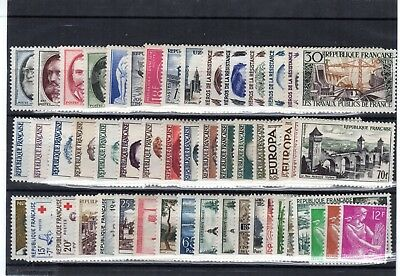 Timbres  Annee  Complete  France Neuf  Luxe  1957 +++